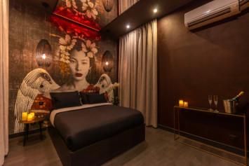 chambre à l'heure romantique Geisha,
