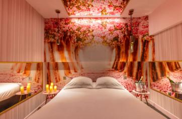 chambre pink lady décor floral