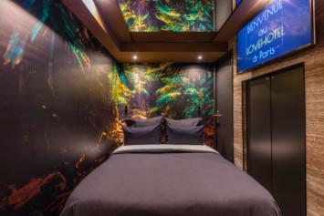 chambre Jane décor forêt tropicale