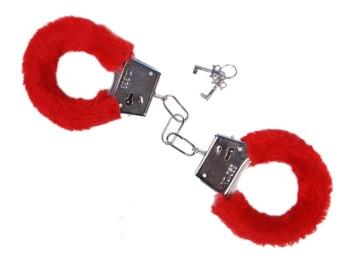 menottes fourrure accessoires érotiqeues